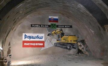 Slávnostné prerazenie tunela Žilina na stavbe D1