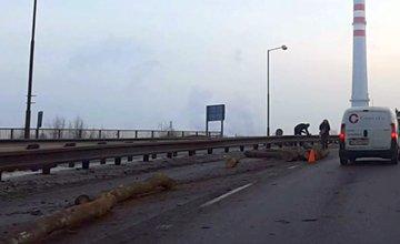 Dopravná nehoda na ulici Ľavobrežná v Žiline - 8.12.2016