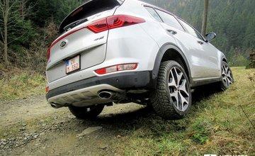Fotogaléria: Redakčný test Kia Sportage