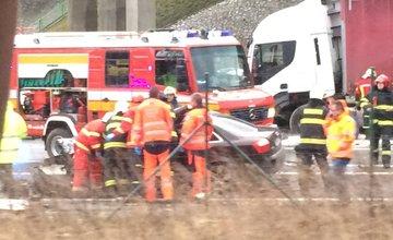 Dopravná nehoda za Vrútkami - 12.12.2016