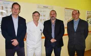 George Trabelssie venoval žilinskej nemocnici prístroje za takmer 19.000 eur