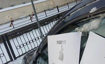 Parkovanie na invalidoch Žilina 2016