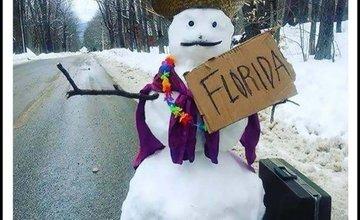 Internet vtipne reaguje na snehovú nádielku na Orave a na Kysuciach