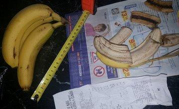Banány so zúženou špičkou LIDL 2.2.2017