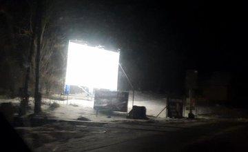 Reklamná plocha v obci Porúbka pri Žiline