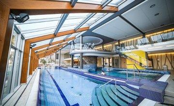 Termálne bazény a masáže v hoteli Horal