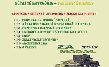 2.ročník súťaže a výstavy plastikových a papierových modelov