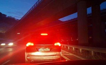 Dopravná nehoda Strečno - Dubná Skala - 12.2.2017