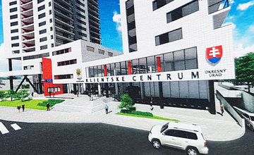Nové klientske centrum Europalace Žilina