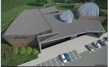 Planetarium Žilinská univerzita - štúdia