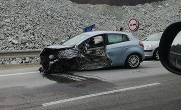 Dopravná nehoda pod Dubnou Skalou - 8.3.2017