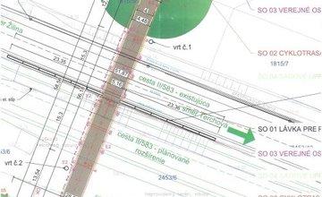 Výstavba lávky medzi Vodným dielom a obcou Teplička nad Váhom