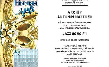 Výstava gramofónových platní z archívu Antonína Matznera