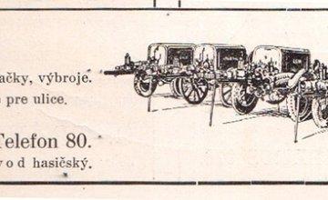 Galéria starých žilinských reklám  - I. časť