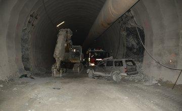 Polícia zverejnila fotografie z nehody v tuneli Višňové
