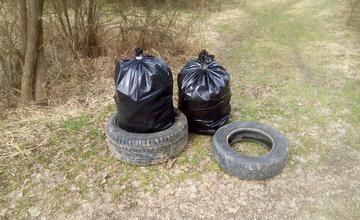 Druhá etapa čistenia Hradiska od odpadkov