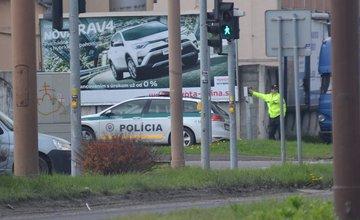 Dopravný kolaps v Žiline - 13.4.2017