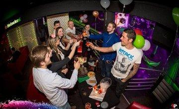 Pozvánka na oslavu 4-tých narodenín v žilinskom enjoyclube