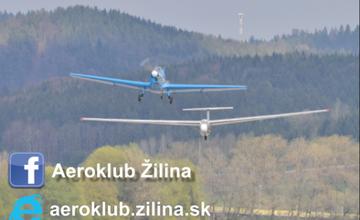 Vetroň L-13 Blaník v AUPARK Shopping Center Žilina