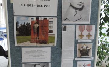 Výstava Jozef Gabčík - Krajská knižnica v Žiline