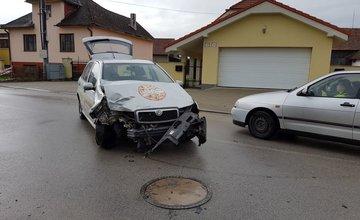 Dopravné nehody v známom esíčku v Trnovom - 2.5.2017