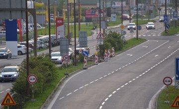 Práce na Košickej ulici v Žiline