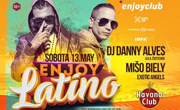 Pozvánka: *enjoyclub opäť ožije latinom