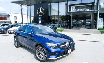 Redakčný test Mercedes-Benz GLC kup