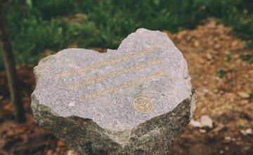 Osadenie pamätného kameňa v Parku Ľudovíta Štúra