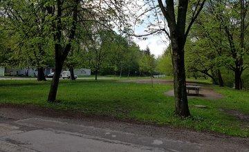 Park a detské ihrisko v mestskej časti Rosinky