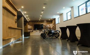 Otvorenie showroomu motocyklov BMW Motorrad v Žiline - MD-Bavaria