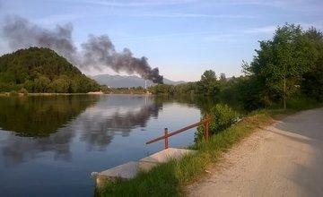 Požiar podvalov Bratislavská ulica - 29. mája 2017