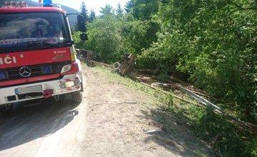 Dopravná nehoda nákladného auta v okrese Liptovský Mikuláš - 1.6.2017