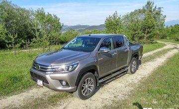 Redakčný test Toyota Hilux