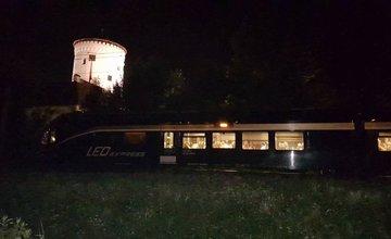 Zráža vlaku s osobou na priecestí Žilina - Budatín 12.6.2017