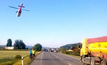 Nehoda motocyklistu pri Bytči - 19.6.2017