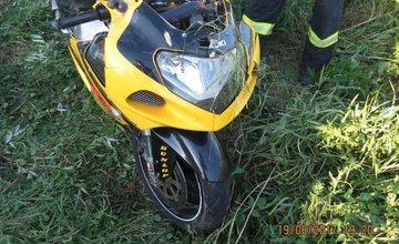 Tragická nehoda motorkára v okrese Bytča 19.6.2017
