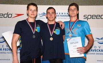 Úspech Klubu plaveckých športov Nereus Žilina na MSR 2017