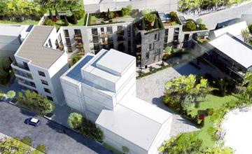 Ružičkov dom prestavba - víťazný návrh