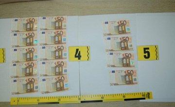 Polícia zaistila falošné 50-eurové bankovky