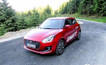 Redakčný test Suzuki Swift