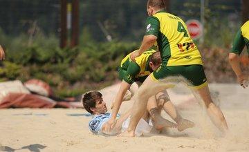 Medzinárodný turnaj v plážovom rugby Bears Beach Rugby v Žiline