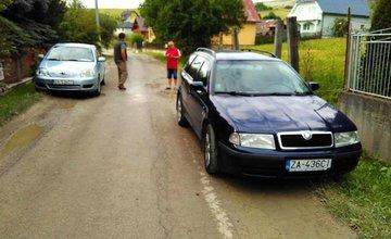 Protestná blokáda v obci Bitarová - 4.7.2017