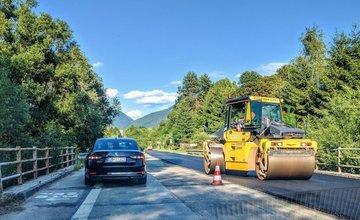 Rekonštrukcia cesty II/583 na území obce Stráža