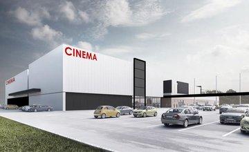 Vizualizácia rozšírenia OC Tulip v Martine o kino CINEMAX