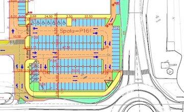Projekt výstavby predajne KIKA v Žiline