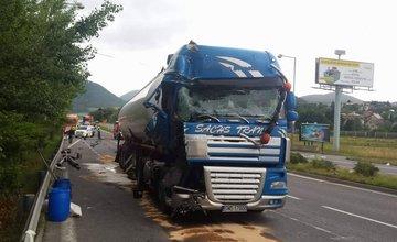 Dopravná nehoda pri mestskej časti Budatín - 13.7.2017