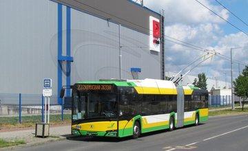 Testovanie nového trolejbusu pre DPMŽ v českej Plzni