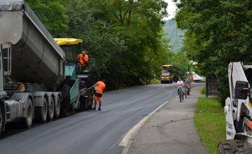 Rekonštrukcia cesty III. triedy v mestskej časti Rosinky