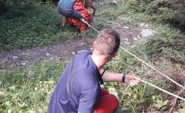 Horskí záchranári pomáhali zranenej turistke v Malej Fatre, na Stohu